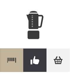 set of 4 editable trade icons includes symbols vector image