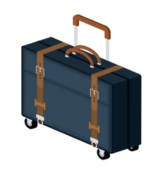 Travel bag isolated icon design vector