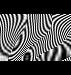 zebra design black and white stripes vector image