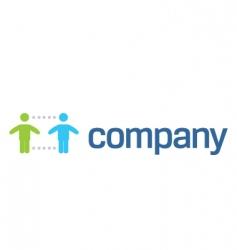 social help organization logo vector image vector image