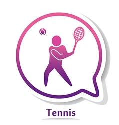 TennisB vector image vector image
