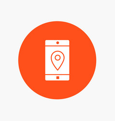 application mobile mobile application location map vector image