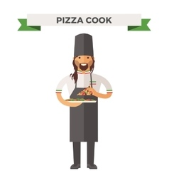 cooking chef vector image