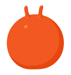 Fitball icon cartoon style vector