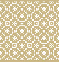 Golden seamless pattern geometric background vector
