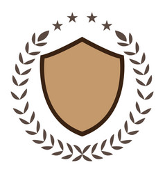 isolated sport emblem vector image