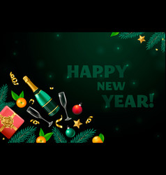 New year party design vector