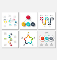 creative concept for infographic vector image