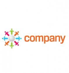 Charity organization logo vector