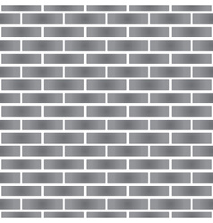 Simple gray stone brick wall seamless pattern vector