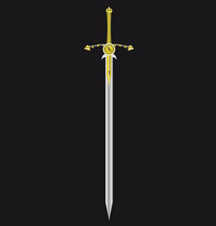 sword of the king vector image