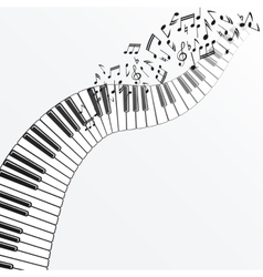 Music background with piano vector