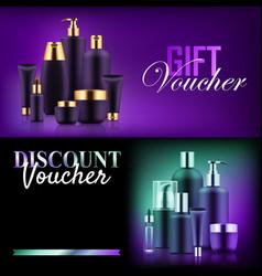premium beauty discount gift vector image