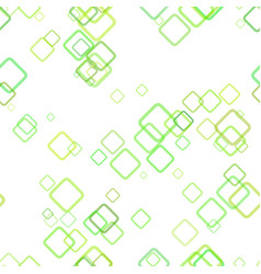 Seamless geometrical square background pattern vector