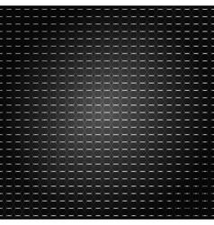 black pattern background vector image vector image