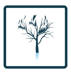 Wildfire icon vector image vector image