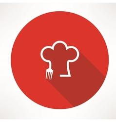 Cook icon vector