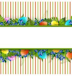 Easter Decorative Frame vector image