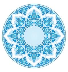 Antique ottoman turkish pattern design fourty five vector image