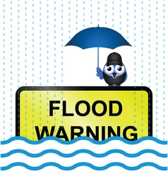 FLOOD WARNING vector