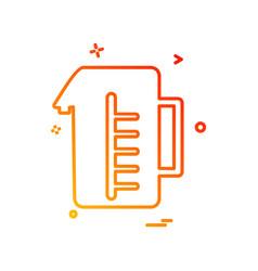 jug icon design vector image