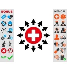 Pharmacy Distribution Icon vector