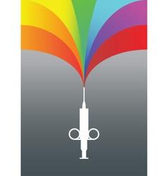 Rainbow injection vector