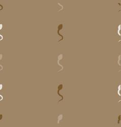 spermatozoa vector image