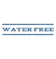 Water Free Watermark Stamp vector image