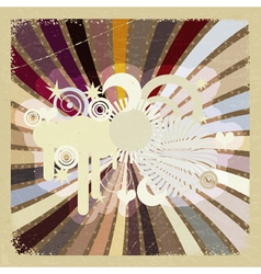 Vintage abstract background eps10 vector image