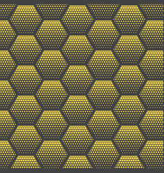 abstract halftone minimalist seamless pattern on vector image