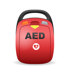 Aed - automated external defibrillator device vector