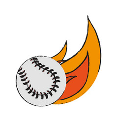 Baseball icon image vector