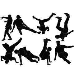 Break dance collection - vector
