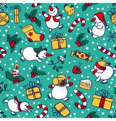 Christmas seamless vector