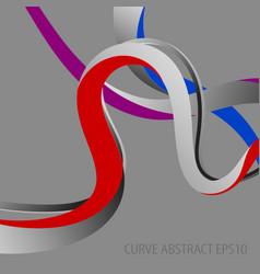 Curve colors abstract wallpaper vector