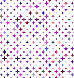 Multicolored star background vector image