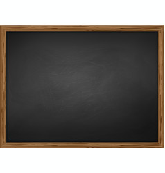 school chalkboard background vector image