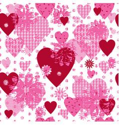 seamless patterned frame vector image