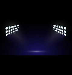 soccer stadium light vector image