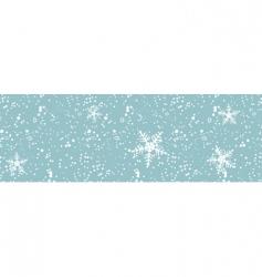 Winter blizzard seamless vector