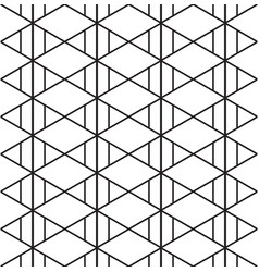 triangle aztec pattern seamless background vector image