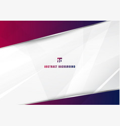 Abstract template blue and pink diagonal vector