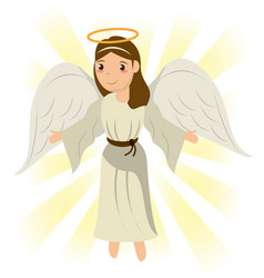 Angel sacred holy miracle symbol image vector