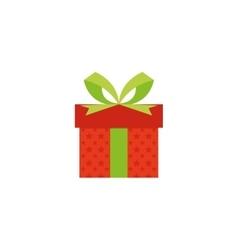 Cute present object vector