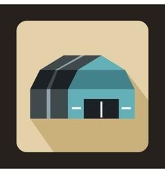 Garage storage icon flat style vector