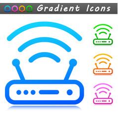 Router symbol icon design vector