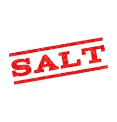 Salt Watermark Stamp vector