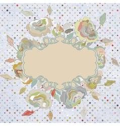 Stylish floral background EPS 8 vector image