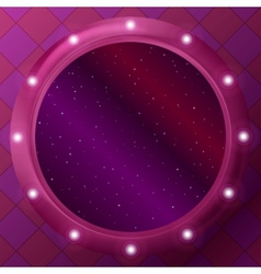 window with stars vector image vector image